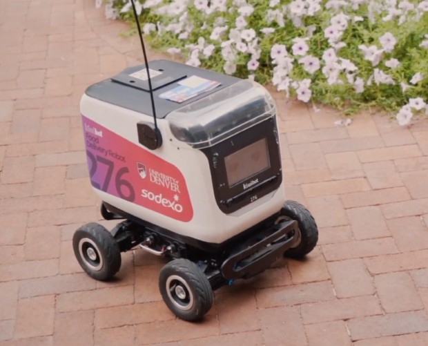 University of Denver launches robot food delivery service