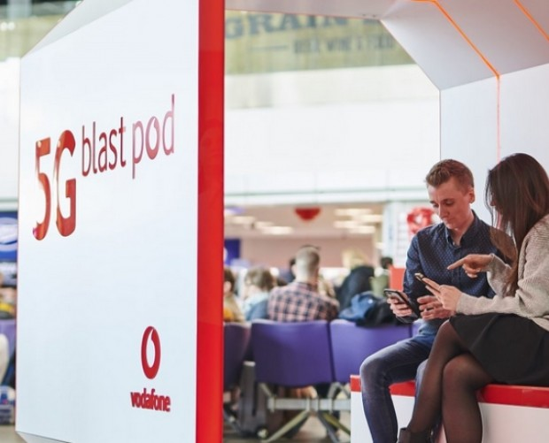 Vodafone introduces 5G at Manchester Airport
