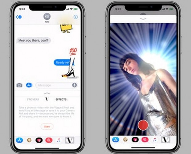 Vogue joins forces with Apple for iPhone X AR feature