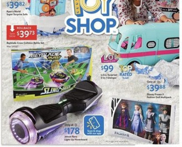 Walmart turns to Digimarc to make its printed toy catalogue shoppable