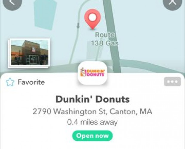 Dunkin' Donuts and Google's Waze team up for ordering in advance