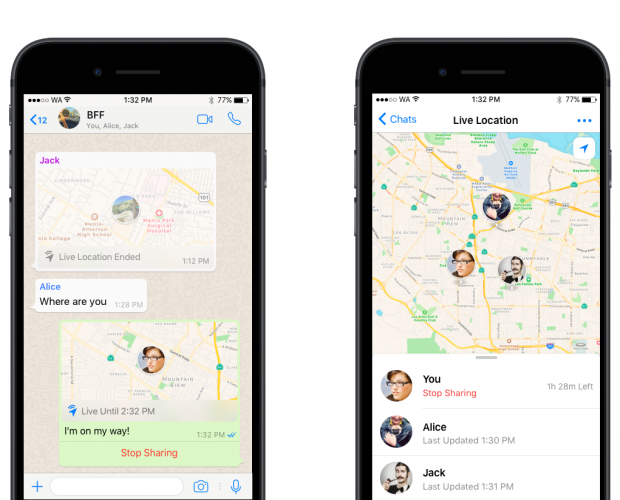 WhatsApp adds live location tracking – will it face a Snapchat-style controversy?