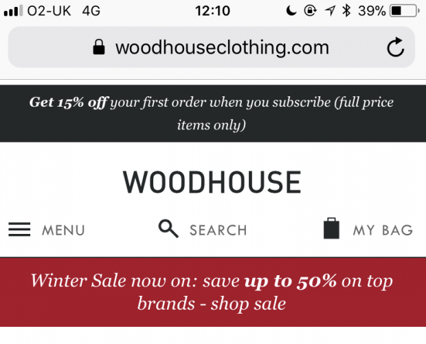 Nosto's AI personalisation engine boosts conversions for Woodhouse Clothing