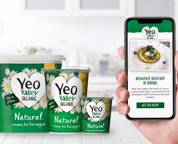Yeo Valley launches connected packaging across Organic range
