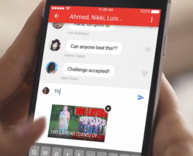 YouTube rolls out mobile chat feature for video sharing