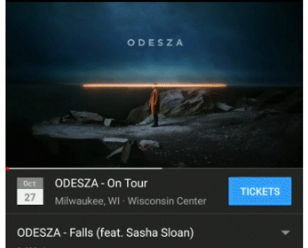YouTube links up with Eventbrite to sell concert tickets below music videos