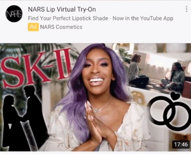 YouTube launches AR Beauty Try-On feature on Masthead and TrueView video ads