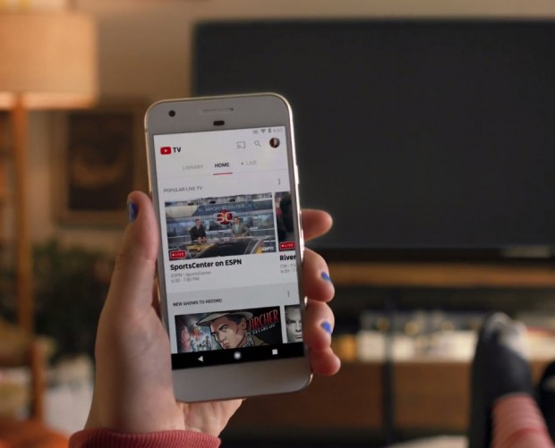 YouTube launches live TV streaming service so you never miss your favourite shows