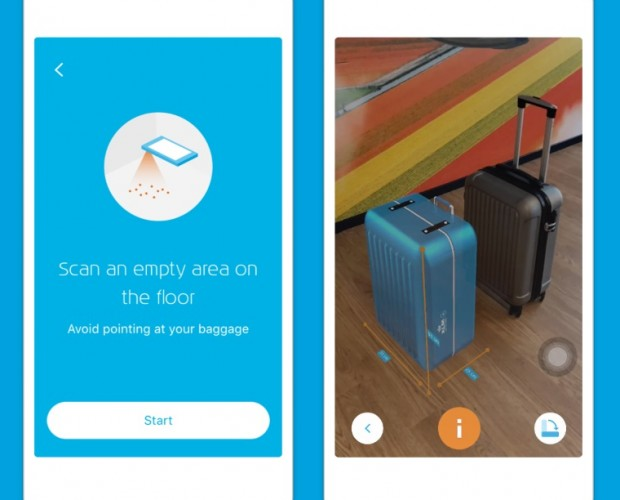 KLM launches augmented reality service for hand baggage check