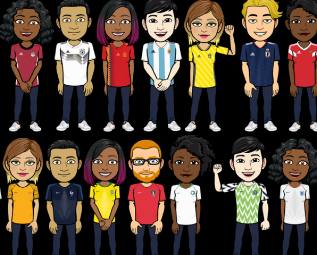 Adidas and Nike partner with Bitmojii for World Cup promotion