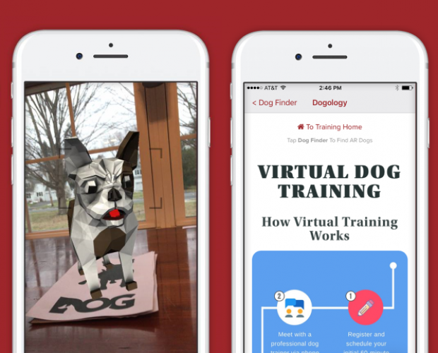 Dogology promotes digital dog training with AR out-of-home campaign
