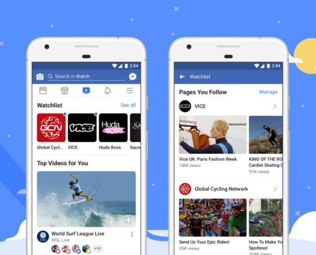 Facebook Watch rolls out worldwide