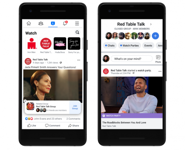 Facebook is launching new Watch and Blood Donation features