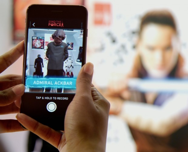 John Lewis partners with Star Wars for AR experience