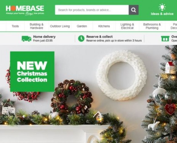 Homebase named as UK's worst online shop