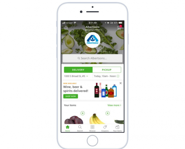 Instacart is expanding its alcohol delivery service