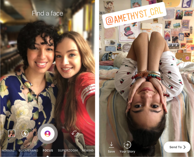 Instagram launches 'Focus' camera format for Stories