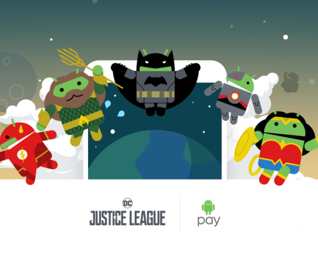 Android Pay rolls out update with Justice League bot promotion