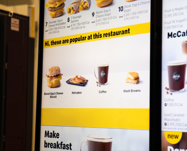 McDonald's to acquire AI-focused startup for over $300m