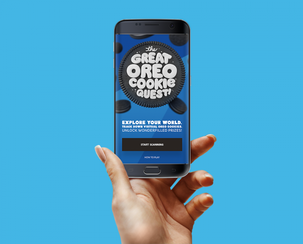 Oreo launches AR scavenger hunt for prizes
