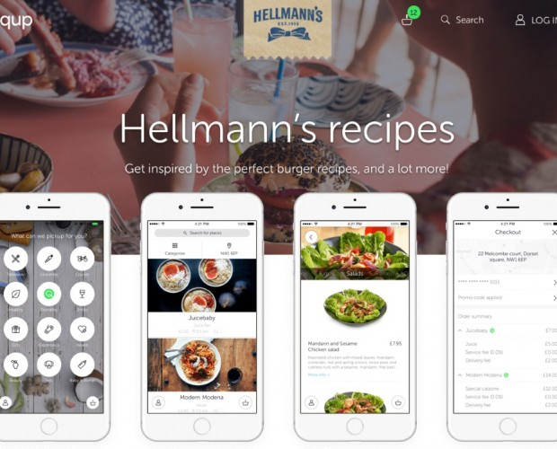 Hellmann's teams up with Quiqup for on-demand recipe delivery