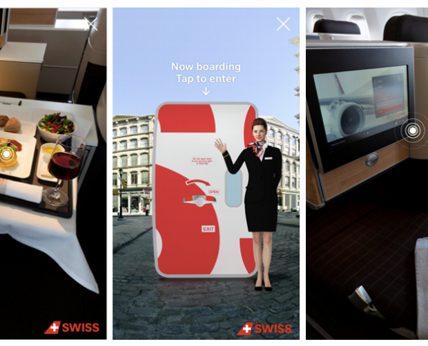 Swiss International Airlines partners with Mindshare and Coffee Labs for AR ad campaign