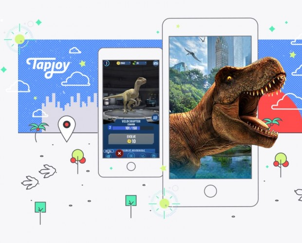 Tapjoy adds Jurassic World Alive, Helix Jump and more to network