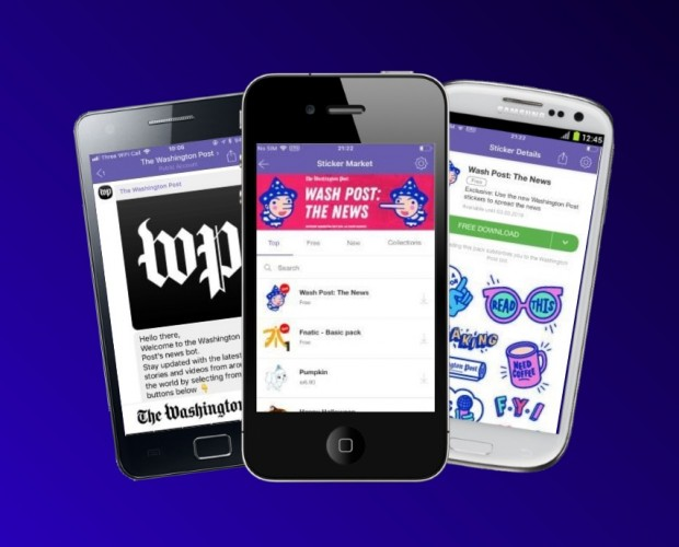 Washington Post expands on Viber with chatbot and new sticker pack