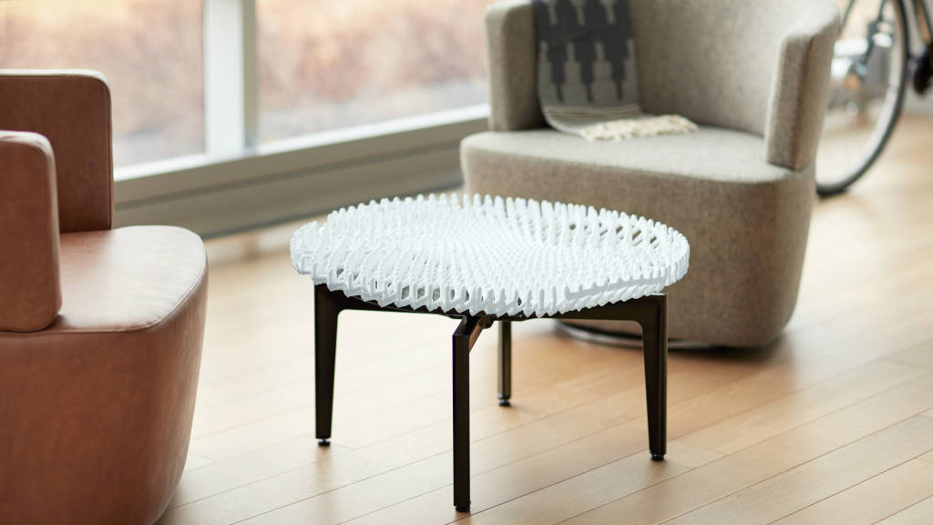 Steelcase 3D printed table